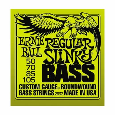 ERNIE BALL Regular Slinky Nickel Wound Bass Strings (2832) Single Pack