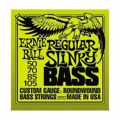 ERNIE BALL Regular Slinky Nickel Wound Bass Strings (2832) Single Pack