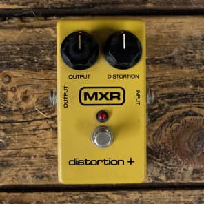 MXR Distortion + M-104
