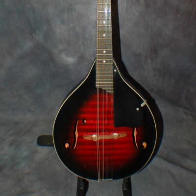 1960's Harmony H8010 A Style Mandolin Pro Setup Original Soft Shell case for sale