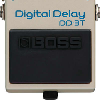 Boss DD-3T Digital Delay Effect Pedal with Tap Tempo