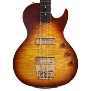 B&G Big Sister Bass Tobacco Sunburst w/Cutaway & Aguilar Humbuckers (Serial #1707033) for sale