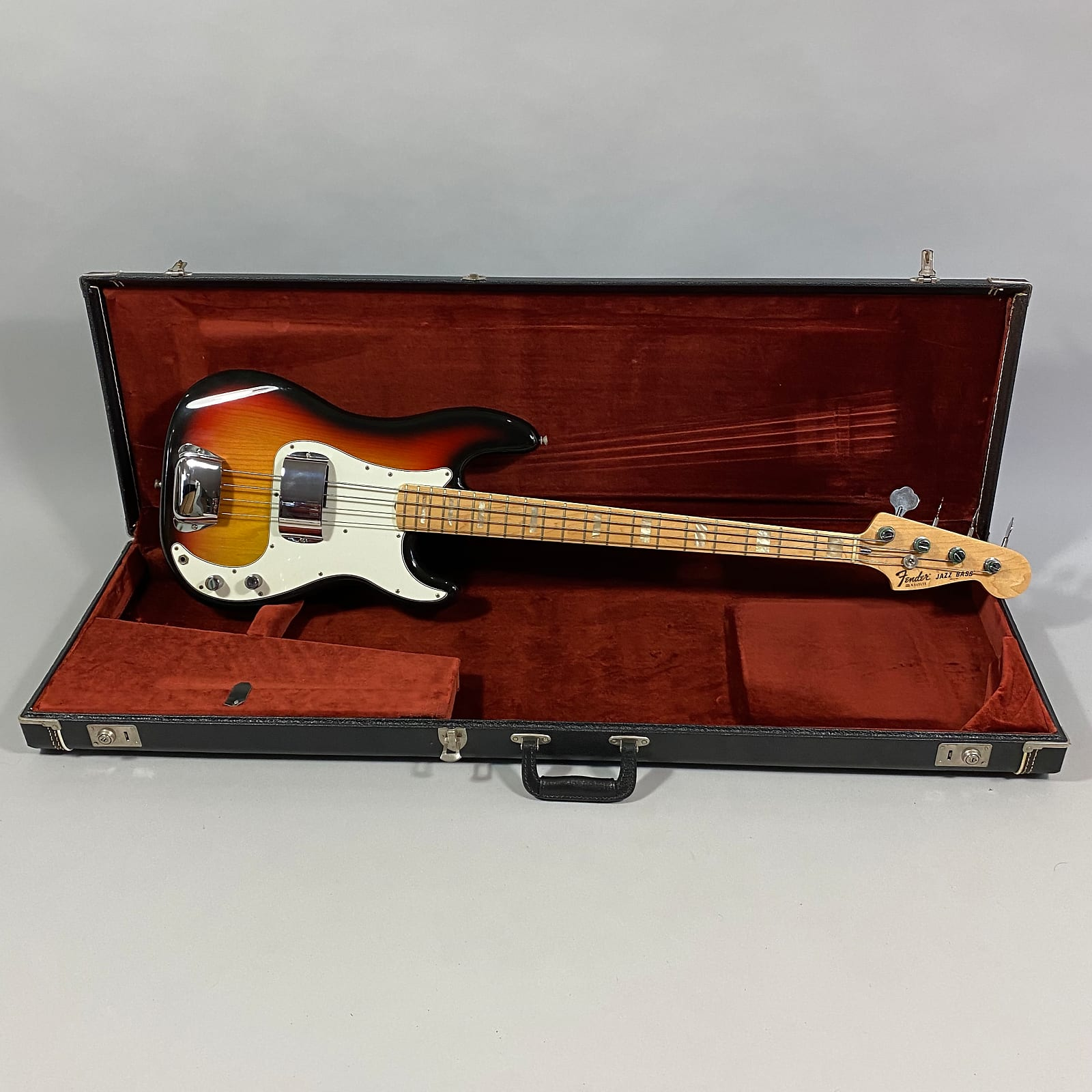 1978 Fender Jazz bass w '76 Precision body