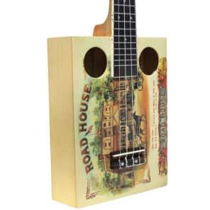 Eddy Finn EF-CGBX-1 Cigar Box Concert Ukulele for sale