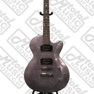 Daisy Rock Rock Candy Classic Electric Guitar, Platinum Sparkle ,DR-6759 for sale