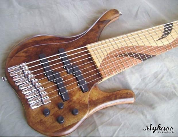 mg bass oasis custom handmade 8 or 9 string bass guitar reverb. Black Bedroom Furniture Sets. Home Design Ideas