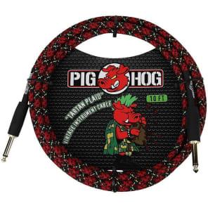 "Pig Hog PCH10PL 1/4"" TS Instrument Cable - 10'"
