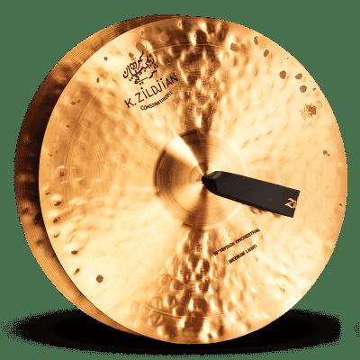 "Zildjian 16"" K Constantinople Vintage Orchestral Medium Light Cymbals (Pair)"