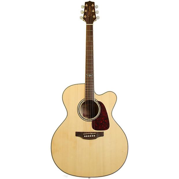 Takamine Gj72ce-nat 6 String Jumbo Cutaway Acoustic Electric Guitar Sunburst Musical Instruments & Gear