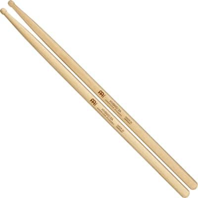 Meinl Stick & Brush Drumsticks, Hybrid 5A—American Hickory with Acorn/Barrel Shape Wood Tip (SB106)