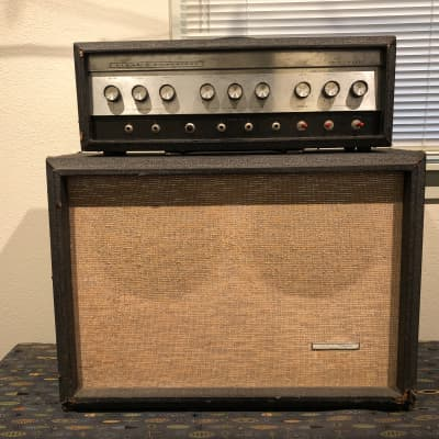 Silvertone Twin Twelve Guitar Amp (Model 1484) Mid-1960's