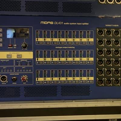 Midas DL431 24-I 72-O Active Mic Splitter