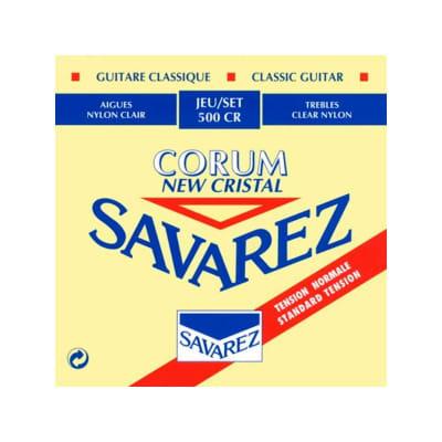 Savarez 500 CR Rectified New Cristal Classical Guitar Strings