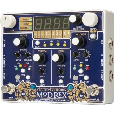 Electro-Harmonix Mod Rex Polyrhythmic Modulator Pedal for sale