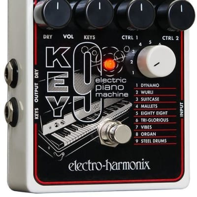 Electro Harmonix Key9 Electric Piano Machine Effect Pedal for sale