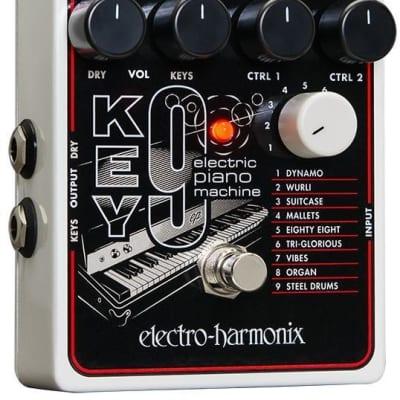 Store Demo | Electro Harmonix Key9 Electric Piano Machine Effect Pedal for sale
