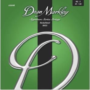 Dean Markley 2604B Nickel Steel 5-String Bass Strings - Medium Light (45-128)