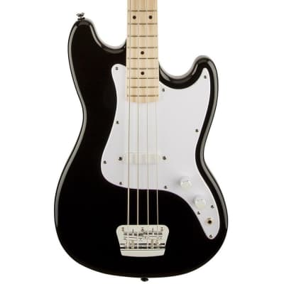 Squier Bronco Bass - Maple Fingerboard - Black