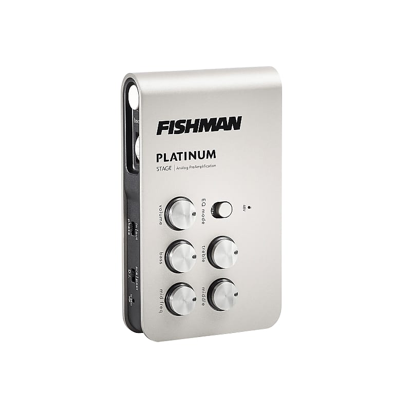 Fishman PRO-PLT-301 Platinum Stage EQ/DI Analog Acoustic Guitar Preamp