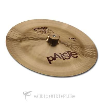 Paiste 18 inch 2002 China Cymbal - 1062618-697643100244