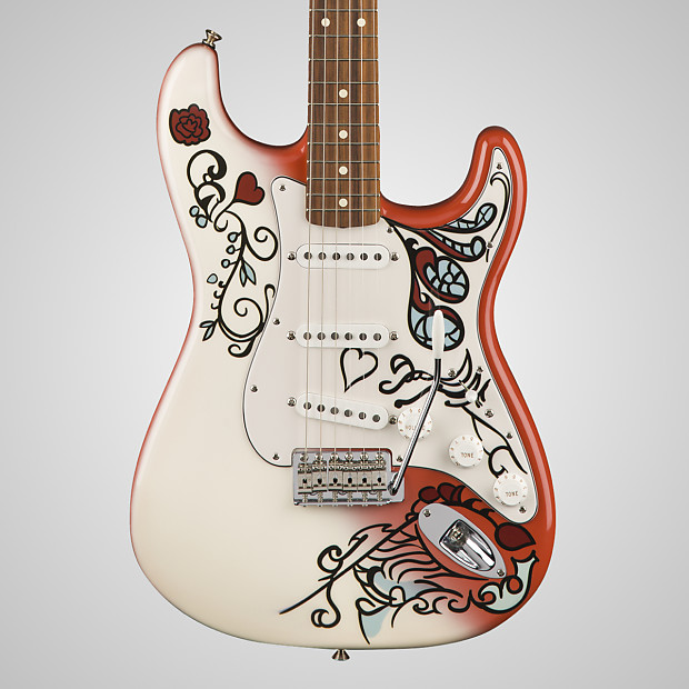 fender limited edition jimi hendrix monterey stratocaster reverb. Black Bedroom Furniture Sets. Home Design Ideas