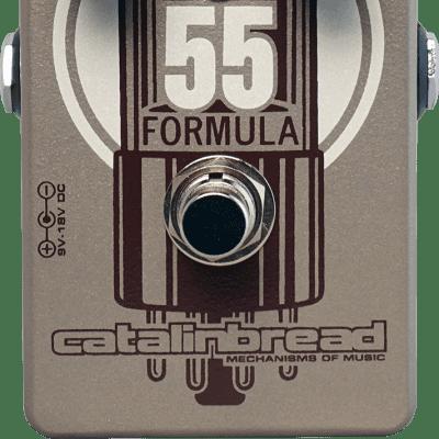 Catalinbread Formula 55 Guitar Pedal Overdrive for sale