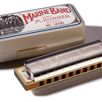 Hohner Marine Band 1896 Classic - D Flat---key-d-flat
