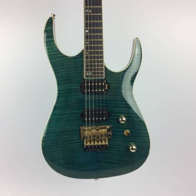 Used Halo 6 STRING CUSTOM Electric Guitar Green for sale