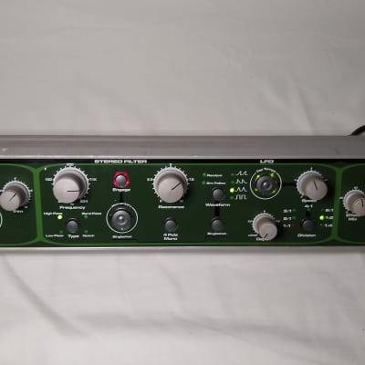 Electrix Filter Factory Stereo Analog Filter rackmount fx