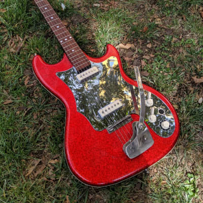 Isana  , German 60s Glitter Guitar for sale