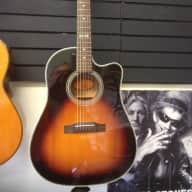 <p>Epiphone AJ40tlc-vs R99k 0298 1990s Sunburst</p>  for sale