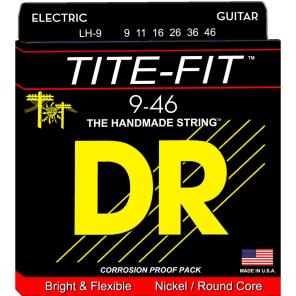 DR LH-9 Lite-n-Heavy Tite Fit Electric Guitar Strings (9-46)