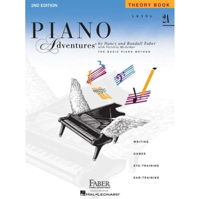 Hal Leonard Faber Piano Adventures Level 2A - Theory Book - 2nd Edition