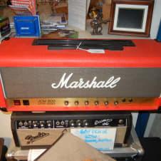Marshall JCM 800 2203 Lead 100W 1988 RED w/ flight case! image