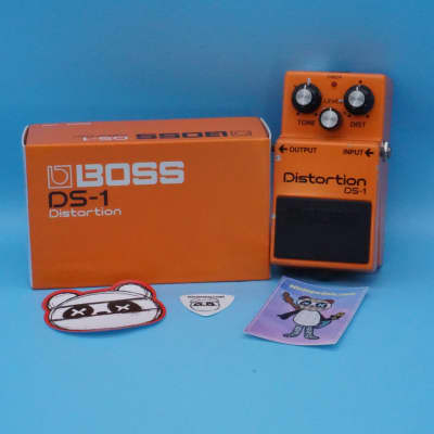 Boss DS-1 Distortion w/Original Box | Rare 1987 Made in Japan (Black Label) | Fast Shipping!