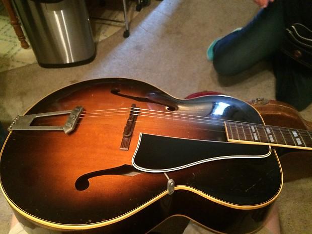 Gibson Acoustic 1950 Black And Orange Jennifer S Shop Reverb