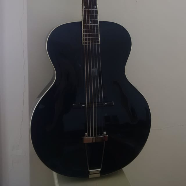 The Loar LH-300 BK 2014 Black image