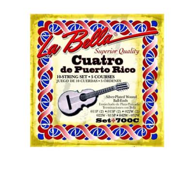 La Bella String 700c Cuatro de Puerto Rico strings Set