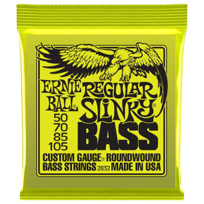Ernie Ball 2832 (50-105) Nickel RoundWound Bass Guitar Strings