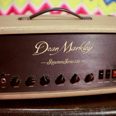 Vintage Dean Markley Signature 120 Tube Amp 1980's Clapton, GE Smith for sale