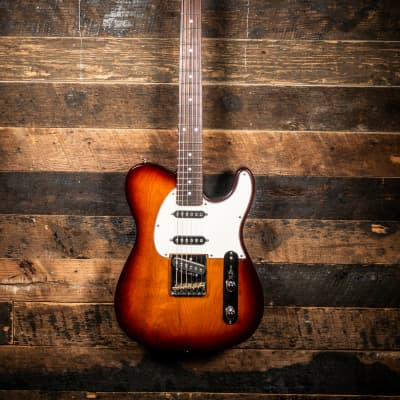 G&L ASAT Classic 'S' Electric Guitar 3-Color Sunburst for sale