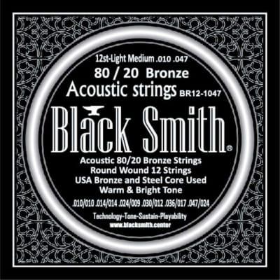 BLACKSMITH Acoustic 12 String Set - Light Medium 010 - 047