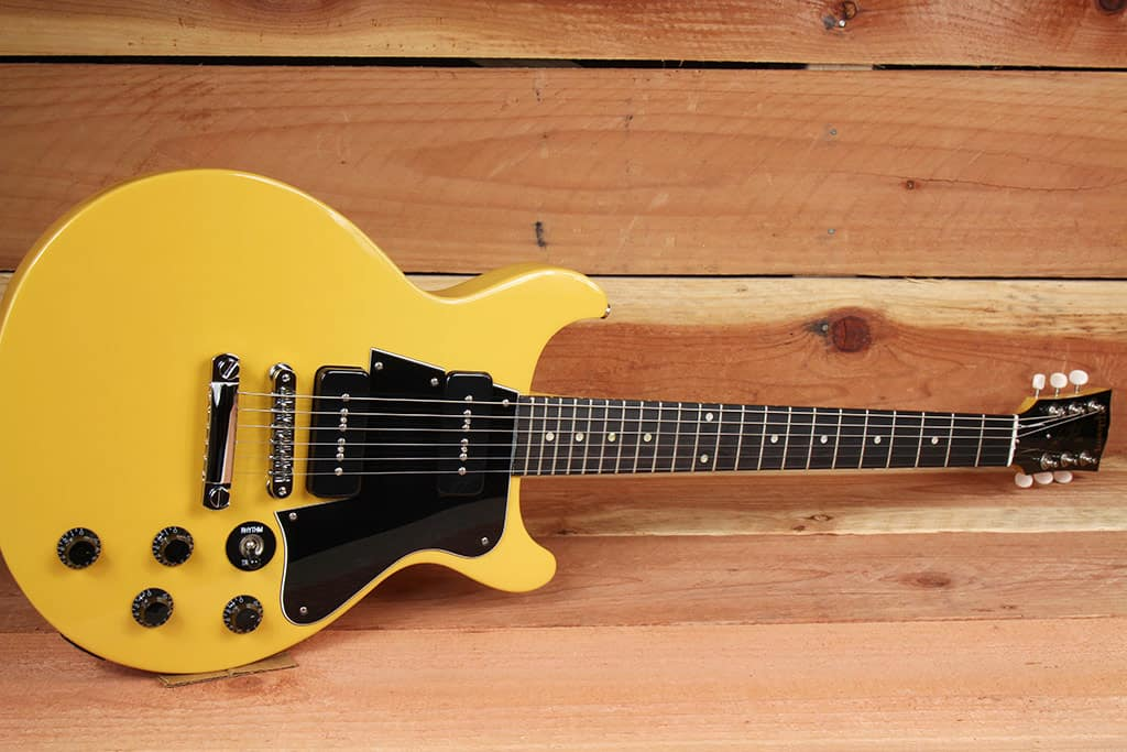 gibson les paul special tv yellow double cutaway dc p90 reverb. Black Bedroom Furniture Sets. Home Design Ideas