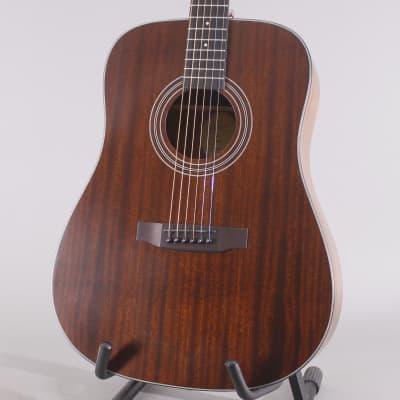 Bristol BD-15 Mahogany acoustic guitar 2019 natural, Bristol gig bag for sale