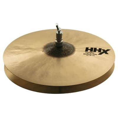 "Sabian 14"" HHX Complex Medium Hi-Hat Cymbal (Bottom) 2019"