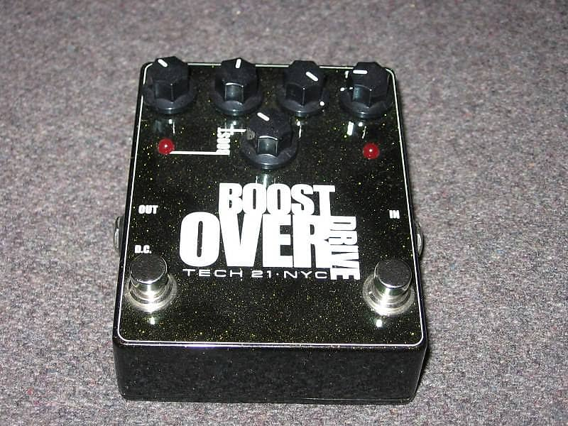 tech 21 boost overdrive jim 39 s en regalia reverb. Black Bedroom Furniture Sets. Home Design Ideas