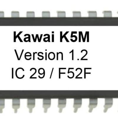 Kawai K5m 1.2 EPROM OS firmware upgrade - not for K5 keyboard