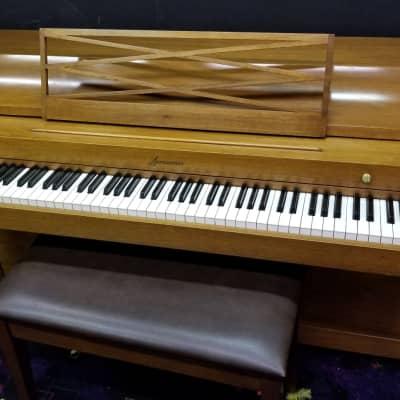 Baldwin Acrosonic Piano Sn 765764 70s Maple