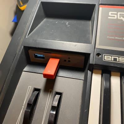 USB HxC Floppy Drive for Ensoniq SQ-80 & PATCH LIBRARY - disk emulator OLED Display SQ80