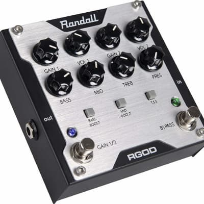 Randall RGOD 2-Channel Preamp Effects Pedal *Like New In Box* for sale
